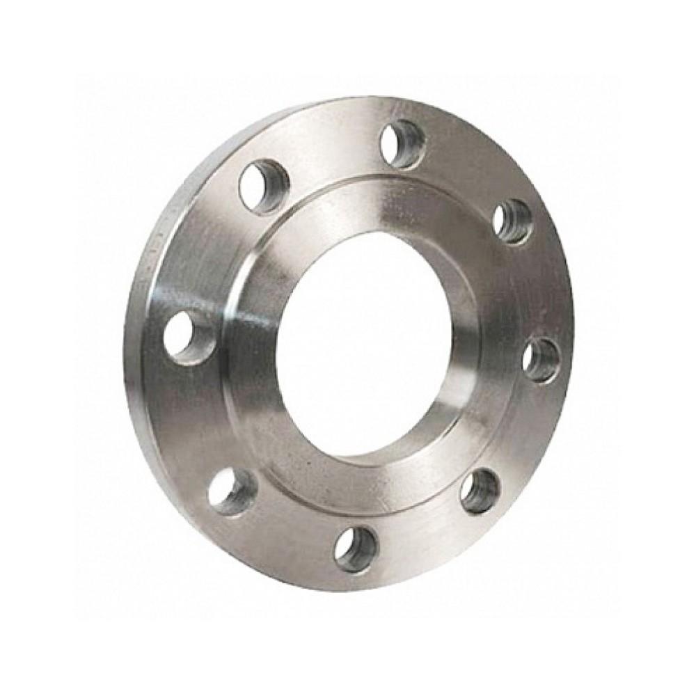 Фланец стальной 09Г2С плоский Ду 150 Ру10 тип 01 ряд 1 исп. B ГОСТ 33259-2015
