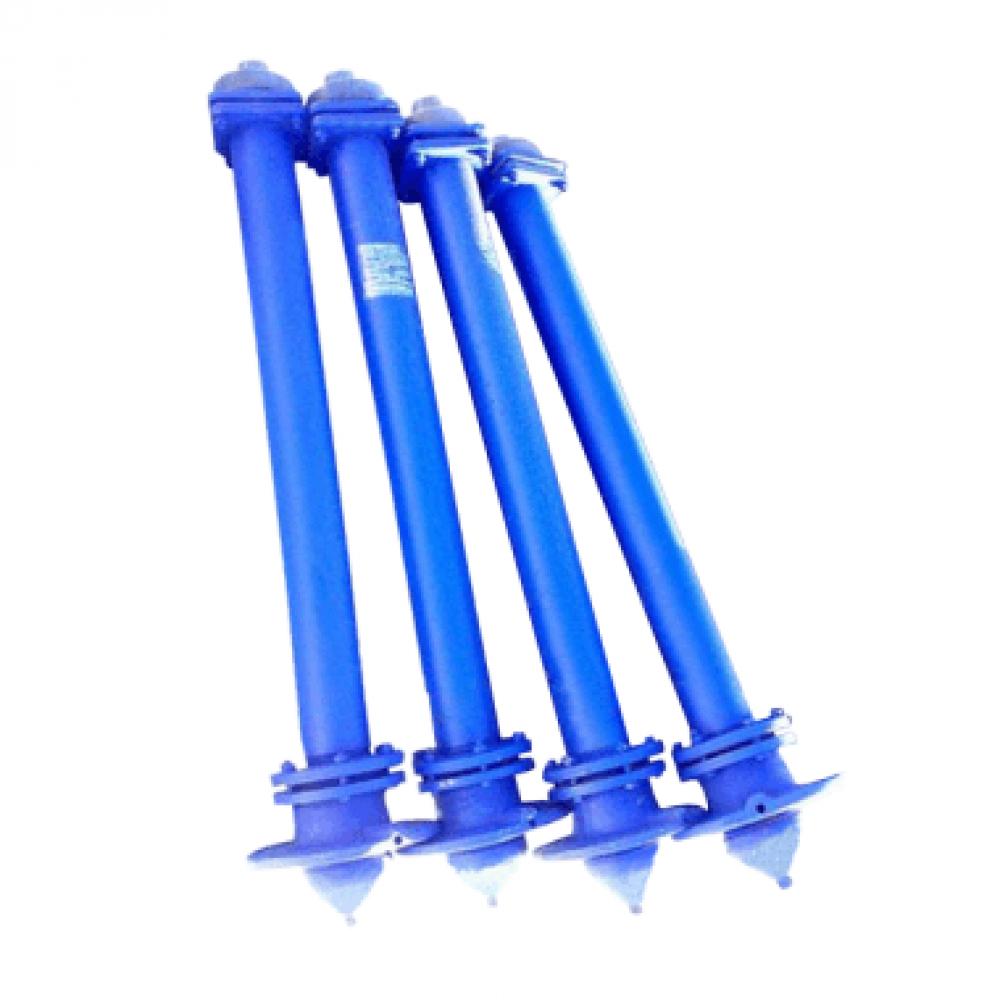 Гидрант пожарный подземный чугун 2000 мм Ру10 синий шпиндель сталь нерж ГИДРОПРОМ-СПБ
