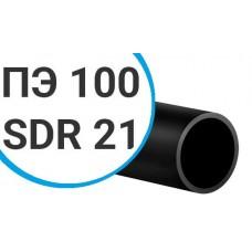 Труба ПНД ПЭ 100 sdr 21 техническая (тип ОС) 40х2 мм