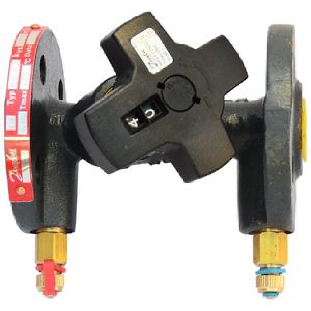 Клапан балансировочный ручной чугун MNF Ду 40 Ру16 фл Kvs=32.3м3/ч с изм/нип Danfoss 003Z1189