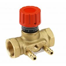 Клапан балансировочный ручной латунь CNT Ду 15 Ру16 ВР Kvs=1.6м3/ч с изм/нип Danfoss 003Z7641