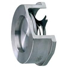 Клапан обратный нерж осевой 275I Ду 15 Ру40 Тмакс=300 оС межфланцевый диск нерж Zetkama 275I015E51