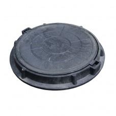 Конус колодца с черным люк d750 h55