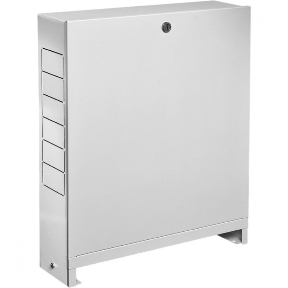 Шкаф коллекторный наружный сталь ШРН-4 848х118х652-715мм Wester