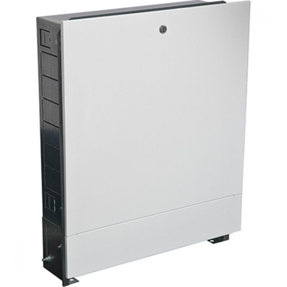 Шкаф коллекторный встраиваемый сталь ШРВ-6 1150х120-180х648-711мм Wester