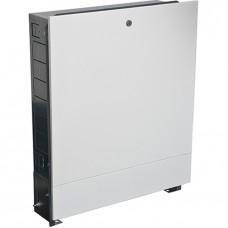 Шкаф коллекторный встраиваемый сталь ШРВ-1 450х120-180х648-711мм Wester