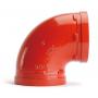 Отвод (колено) под муфту 90гр грувлок XGQT01 Ду40 (Дн48) LEDE