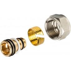 Резьбозажимное соединение Stout SFC-0022-001620 компрессионное, для труб PEX-AL-PEX 16х2,0х1/2