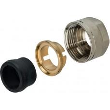 Резьбозажимное соединение Stout SFC-0023-001520 компрессионное, для медных труб 15x3/4