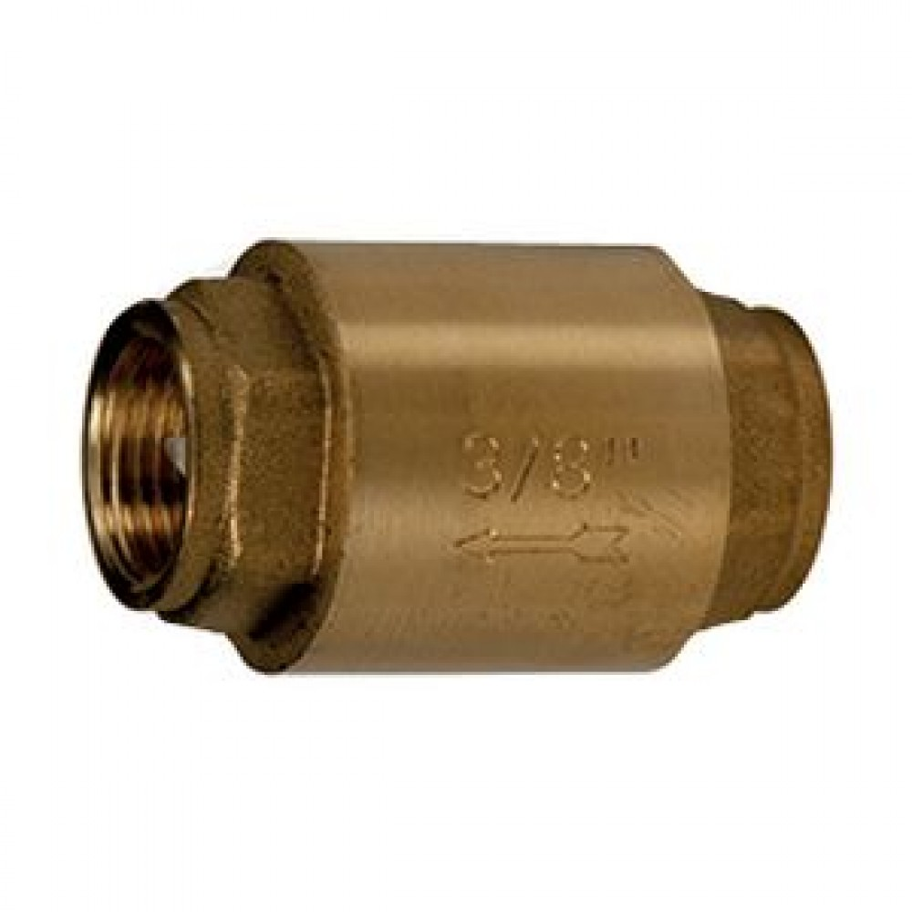"Клапан обратный латунь осевой R60 Ду 20 Ру35 Тмакс=110 оС ВР G3/4"" диск металл Giacomini R60Y034"