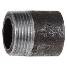 Резьба стальная  Ду 15 L=30мм из труб по ГОСТ 3262-75