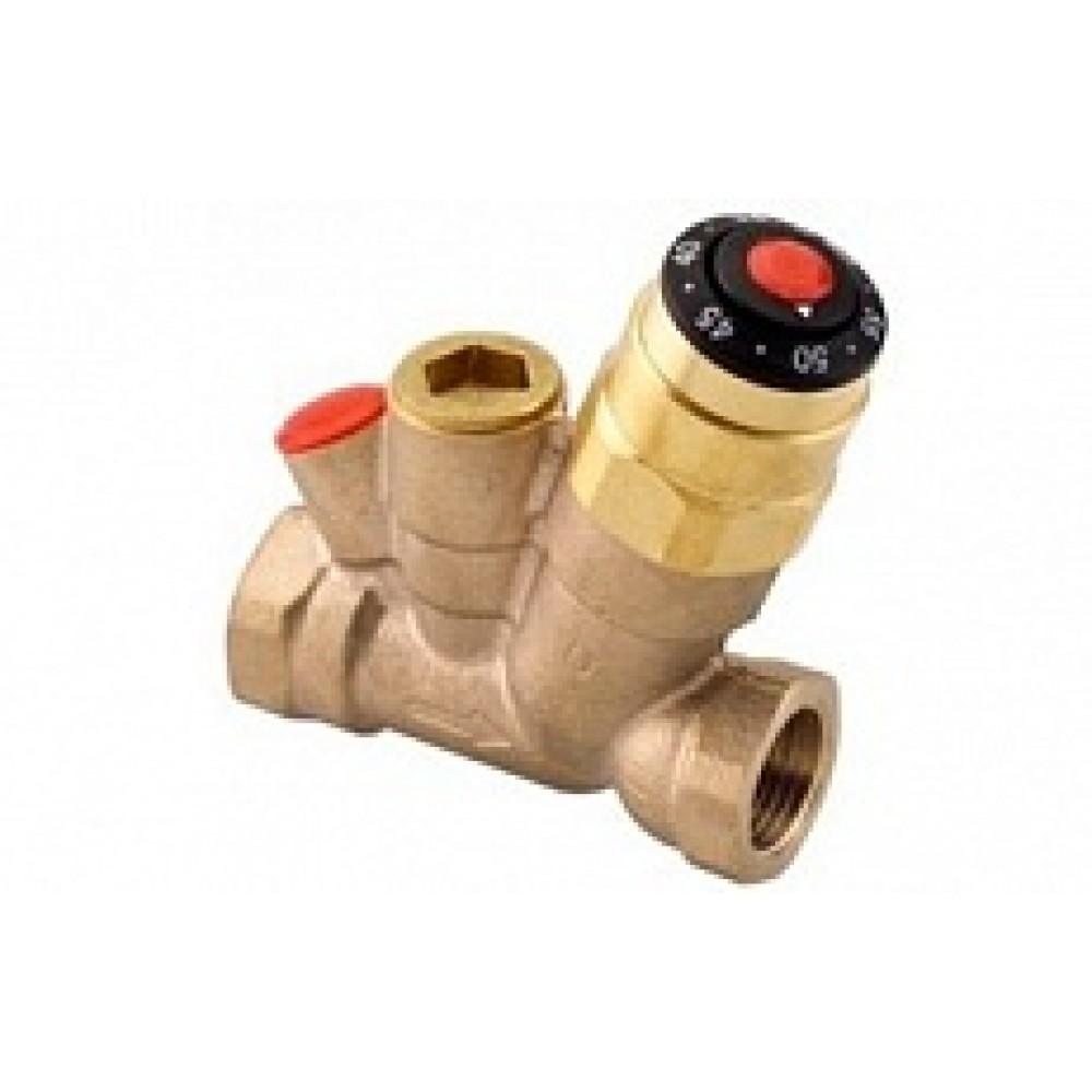 Клапан термостатический балансировочный ручной бронза AHT Ду 15 Ру10 ВР Kvs=1.5м3/ч Danfoss 003Z1525