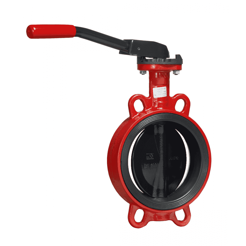 Дисковые поворотные затворы «Гранвэл» ЗПВС-FL(W)-3-100-MN-E ДУ100 РУ16