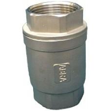 Обратный клапан нержавеющий резьбовой ABRA-D12-025 DN25 PN40
