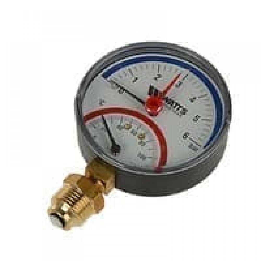 Термоманометр ТМТБ-31Р.1 радиальный Дк80 0,6МПа L=46мм G1/2' 120C Росма