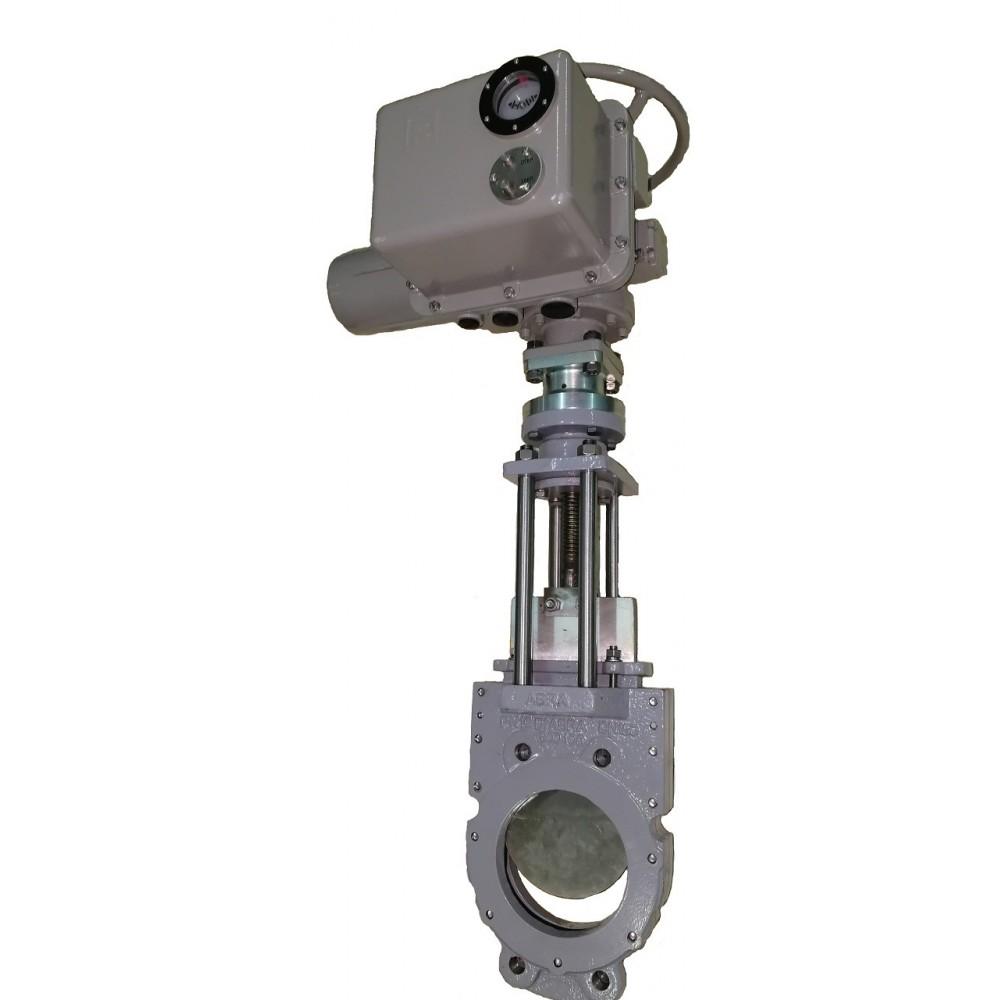 Задвижка шиберная ABRA-KV-03-100-16 DN100 c ISO фланцем под привод