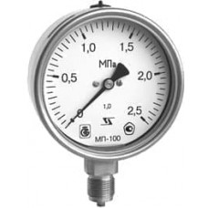 Манометр МП-100 радиальный Дк100мм 4,0МПа G1/2'