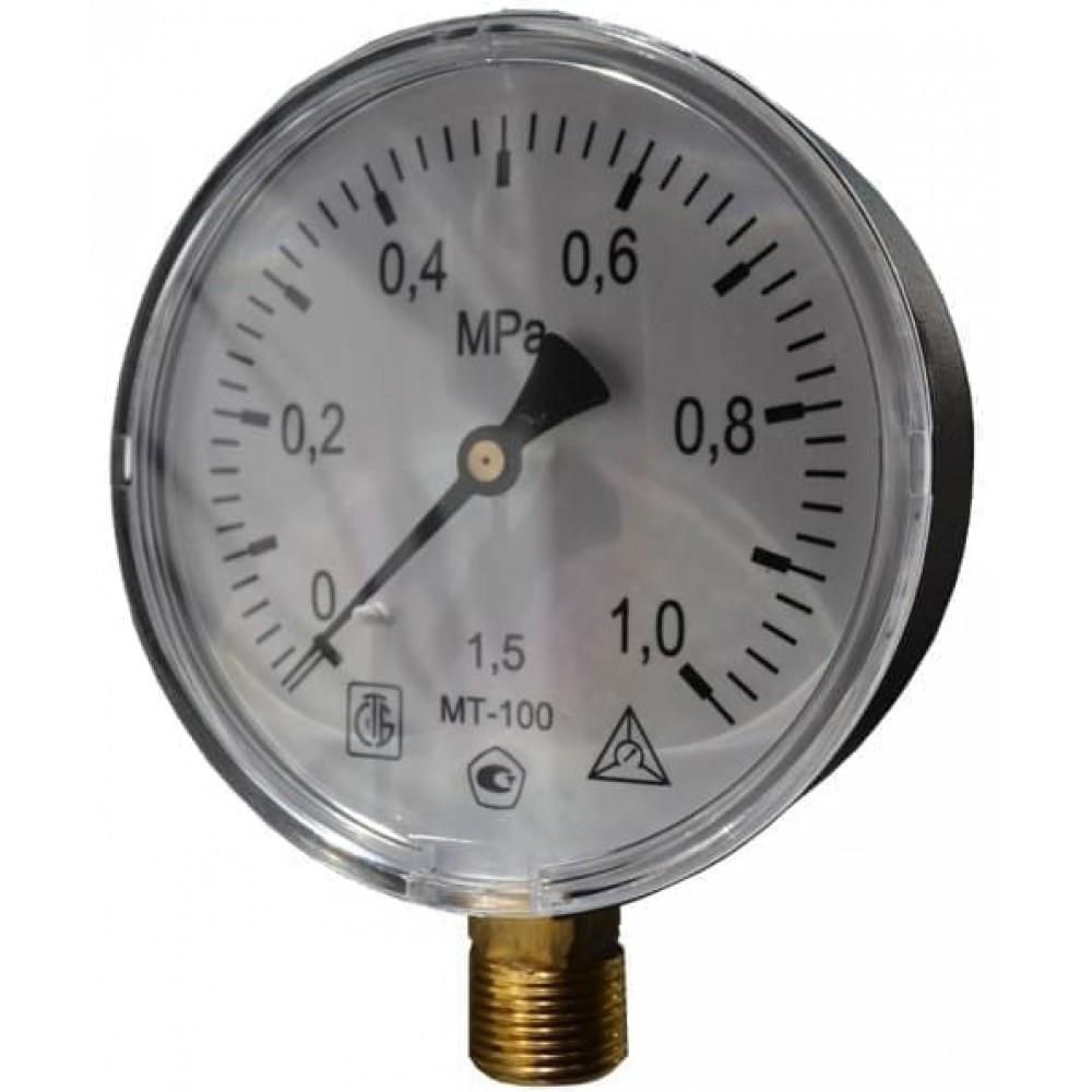 Манометр технический МТ-100 М20х1,5 4,0 Мпа
