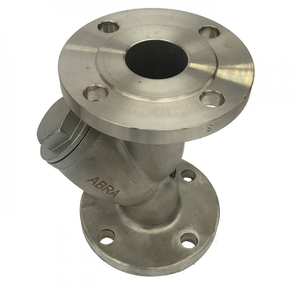 Фильтр сетчатый фланцевый ABRA-YF-3000-D100 Ду 100 (4')