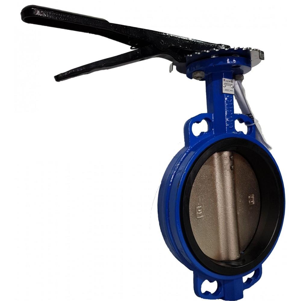 Затвор дисковый поворотный Ду100 (тип 32ч1р) СИБЗТА