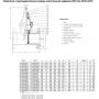 Задвижка AVK клиновая фланцевая DN300 PN16