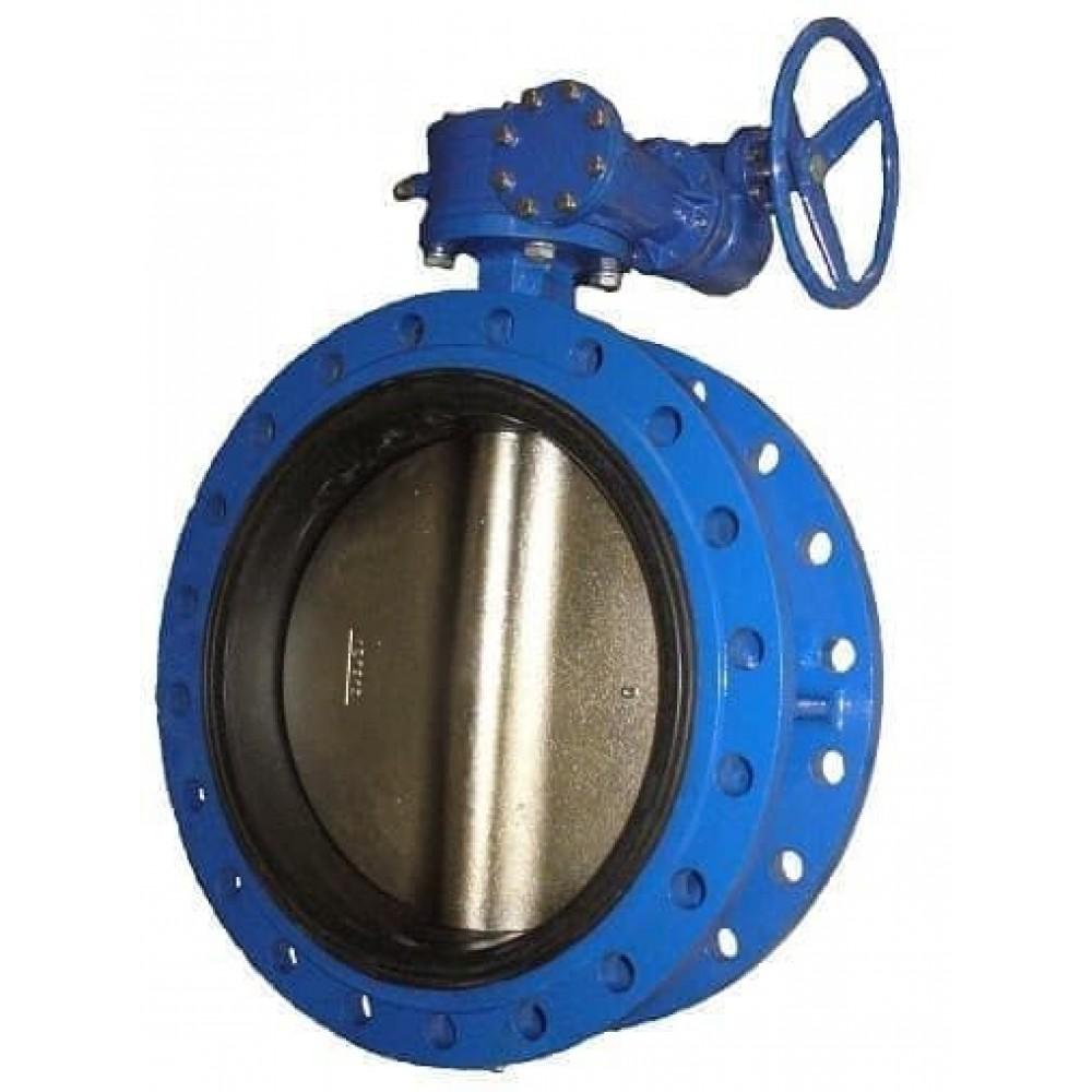 Затвор дисковый ABRA-BUV-FL226D700G Ру10 с редуктором фланцевый DN700 ABRA