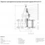 Задвижка AVK клиновая с соединительными муфтами SUPA PLUS DN200/200 PN16