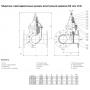 Задвижка AVK клиновая тройниковая фланцевая COMBI-TEE DN100/80 PN16