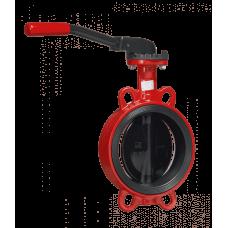 Дисковые поворотные затворы «Гранвэл» ЗПВС-FL(W)-3-125-MN-E ДУ125 РУ16