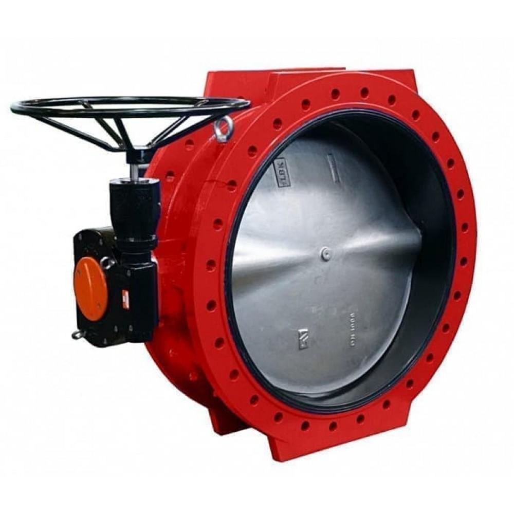 Дисковые поворотные затворы «Гранвэл» ЗПСС-1400х1,0 - FN(W)-3-1400-MDV-E ДУ1400 РУ10