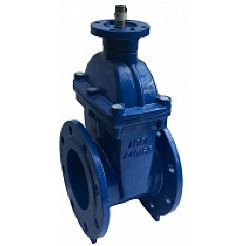 Задвижка с обрезиненным клином под электропривод ABRA DN350 A40-10-BS350 / ISO 5210 (ISO 5211)
