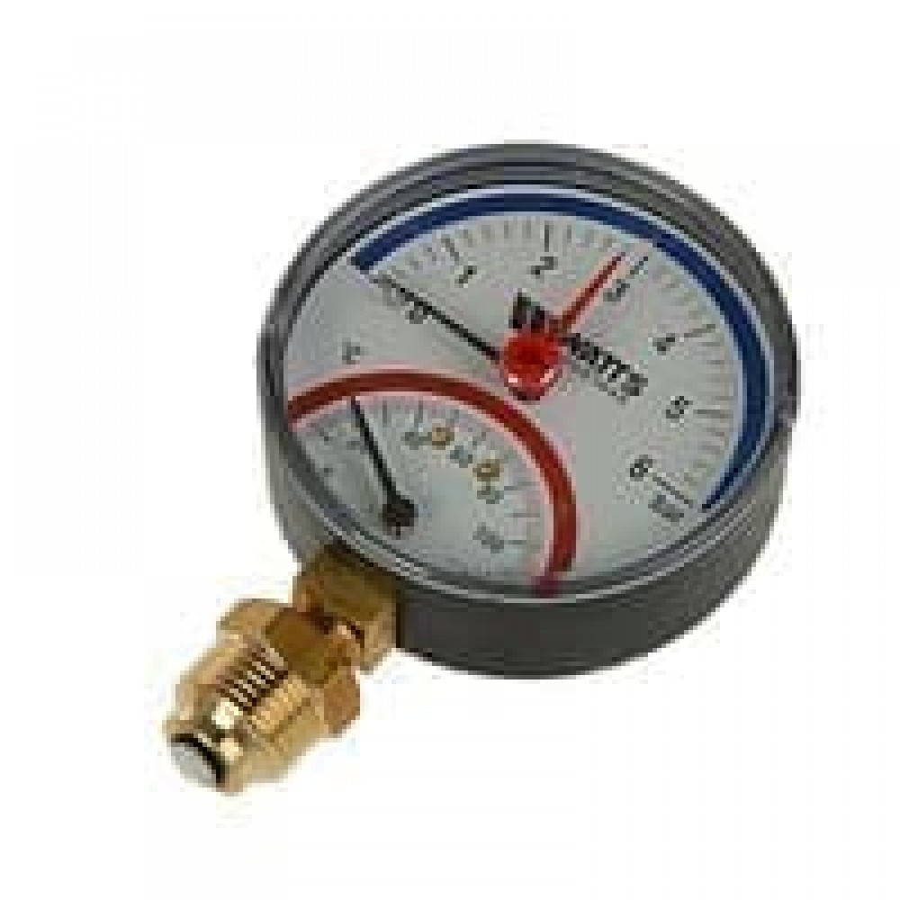 Термоманометр ТМТБ-31T.1 осевой Дк80 0,6МПа L=46мм G1/2' 120C Росма