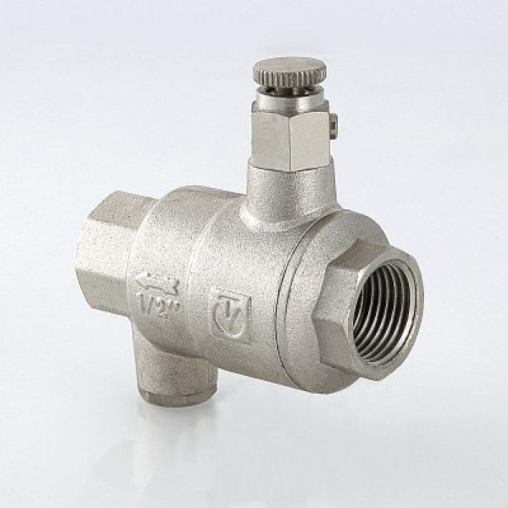 Обратный клапан с дренажем и воздухоотводчиком VALTEC 3/4'