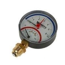 Термоманометр ТМТБ-31Р.1 радиальный Дк80 1,0МПа L=46мм G1/2' 120C Росма