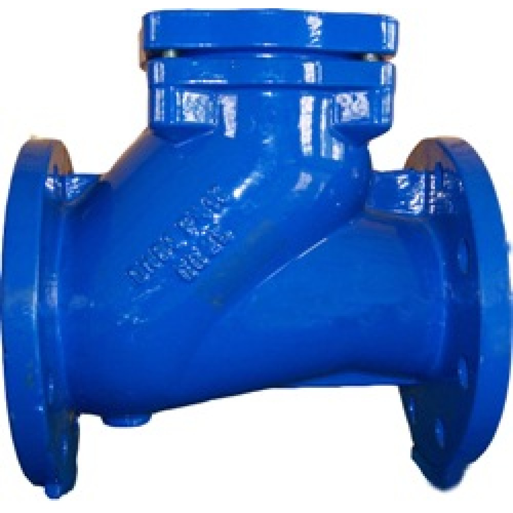 Обратный клапан для канализации и пр. ABRA-D-022-NBR-400-10 Ру10 DN400 PN10