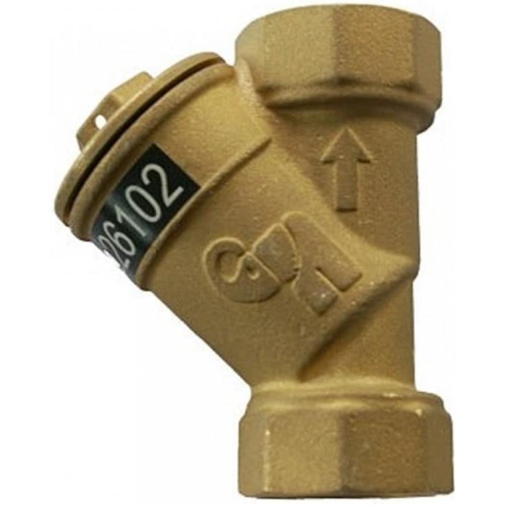 Фильтр магнитный латунь ФСП Ду20 Ру16 м/м Водоприбор