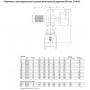 Задвижка AVK клиновая фланцевая короткая, с электроприводом AUMA norm DN200 PN16