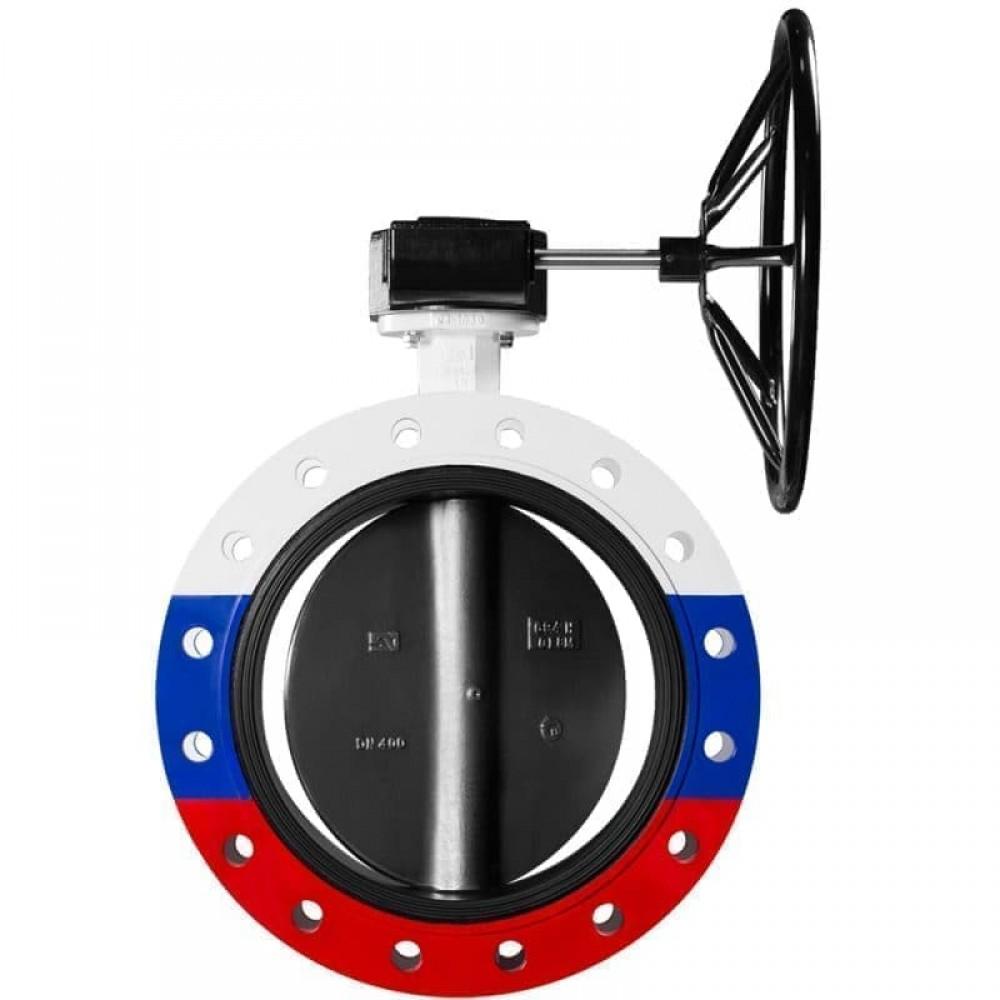 Дисковые поворотные затворы «Гранвэл» ЗПСС-450х1,0 - FG(W)-3-450-MDV-E ДУ450 РУ10