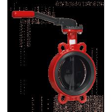 Дисковые поворотные затворы «Гранвэл» ЗПНС-FL(W)-3-080-MN-N ДУ80 РУ16