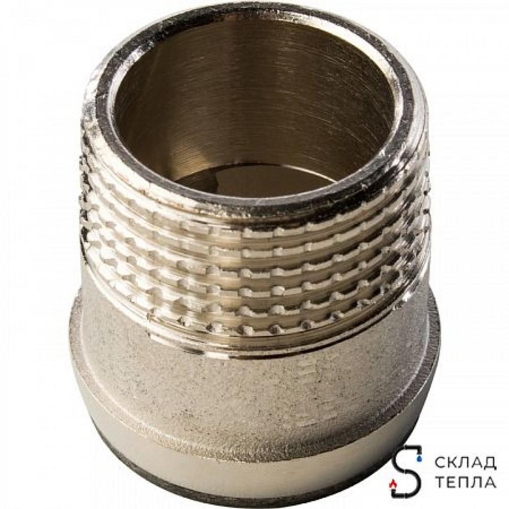Кран шаровой полнопроходной STOUT - 3/4' (ВР/НГ, PN40, Tmax 150°С, ручка-бабочка черная) SVB-0007-000020