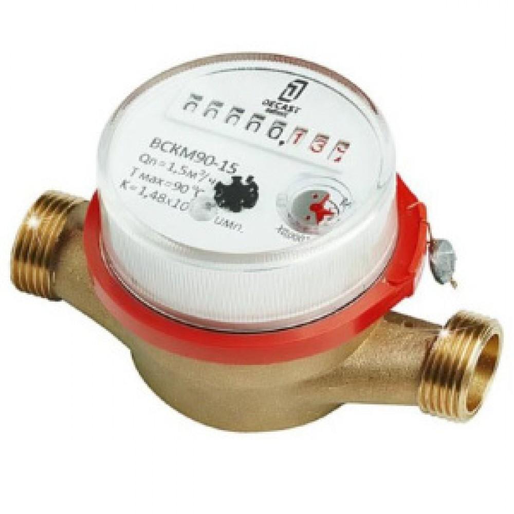 Счетчик воды ВСКМ 90 40 ПК Прибор, T 5-120 С°, Ду 40