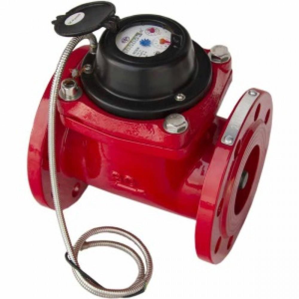 Счетчик воды ВДТГ ИМ 100 с импульсным выходом СпецТехПрибор, T 5-150 С°, Ду 100